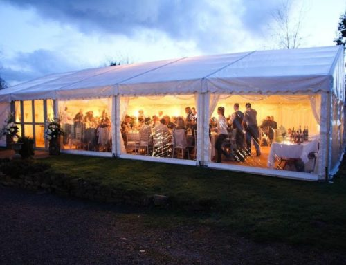 How much space do I need in a Marquee?