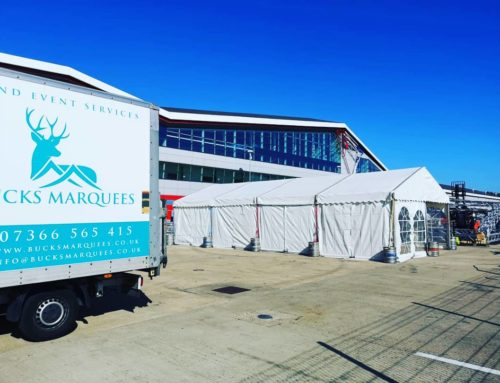 Corporate Marquee at Silverstone Circuit
