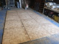 parquet dance floor for hire