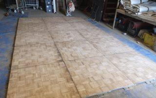 parquet dance floor for hire