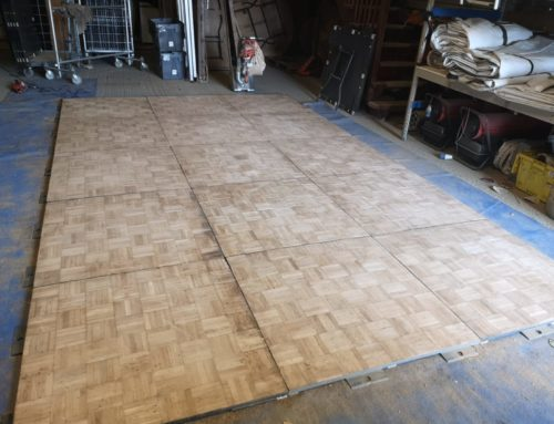 Dance floor update