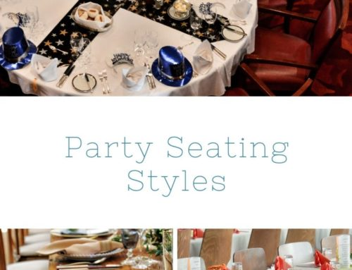 Party Seating Styles