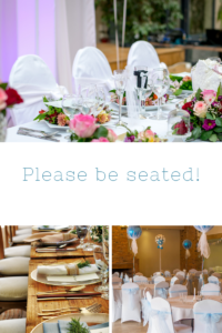 Party Planning Seating Plan