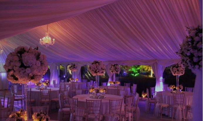 Uplighters Marquee Lighting Bucks Marquees