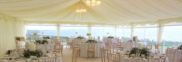 Wedding Marquee Furniture Hire - Bucks Marquees