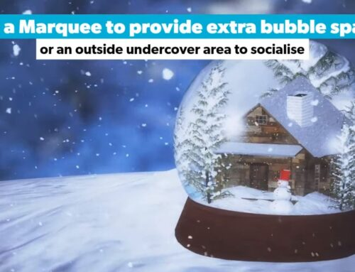 Christmas Bubble – Hire a marquee from Bucks Marquees